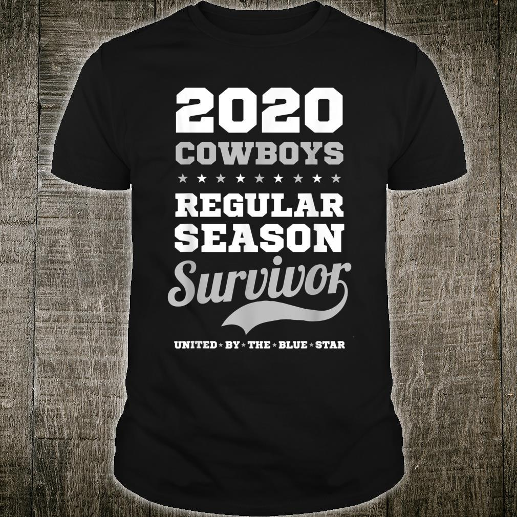 '2020 Cowboys Regular Season Survivor' Shirt