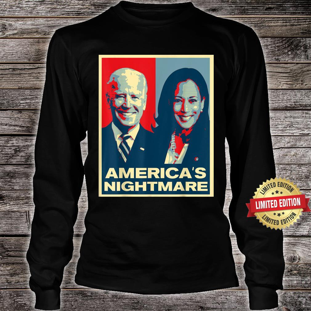 America's Nightmare Impeach Biden Harris Now Anti Joe Biden Shirt long sleeved