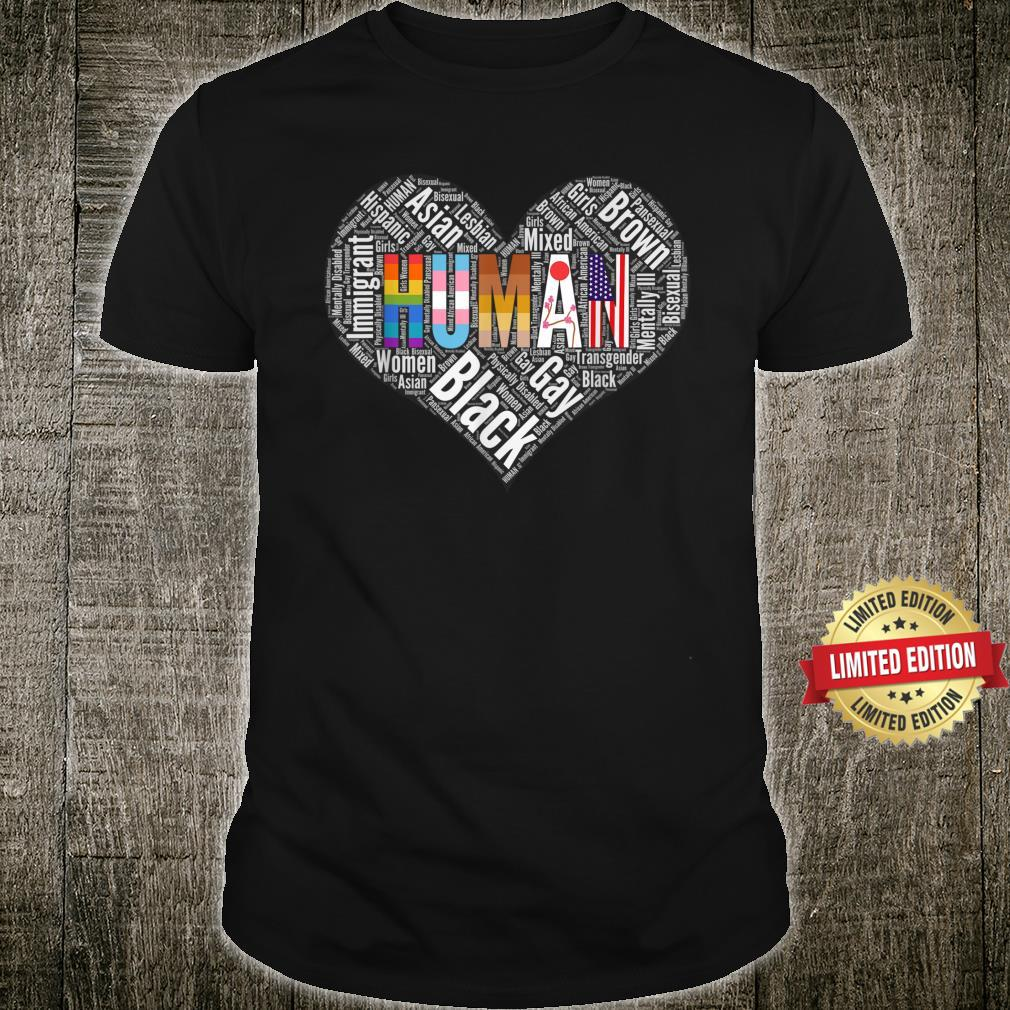 Human Rights, Social Justice Pride Equality Disability Shirt
