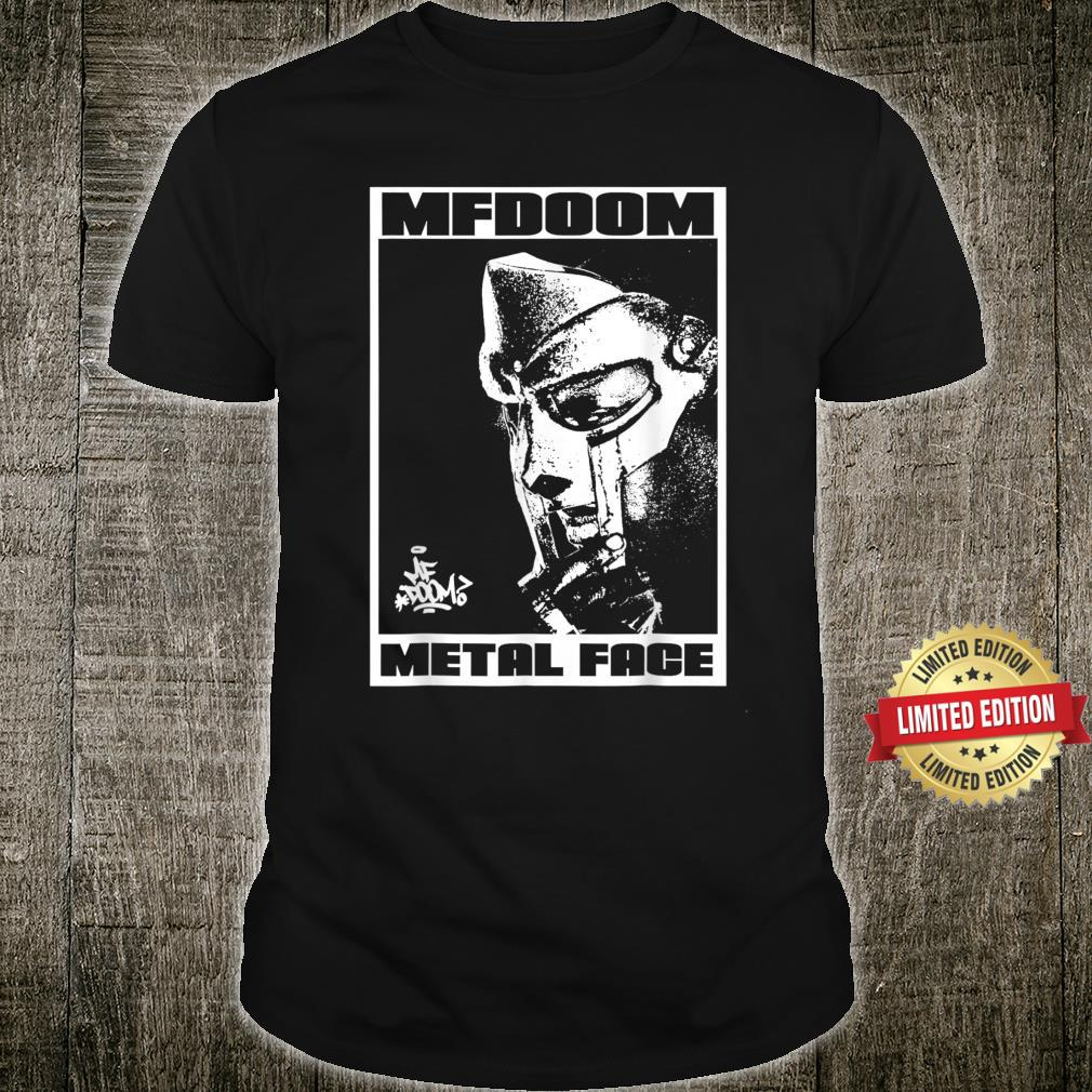 MFDoom Metal Face Shirt