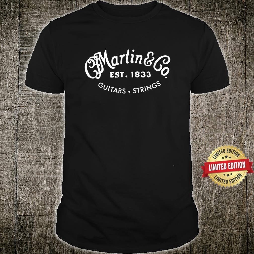 Martin Guitars Logo Merchandise Shirt