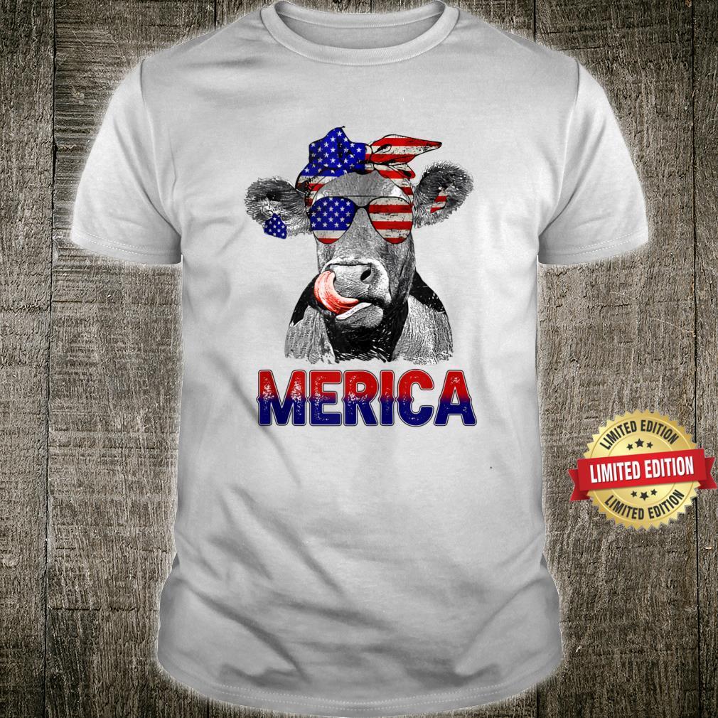 #Merica Shirt, Merica cow Shirt