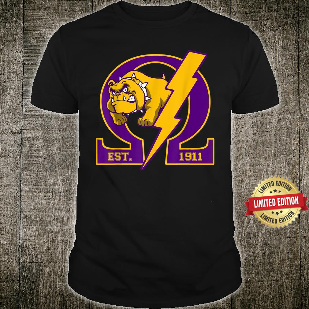 Omega1911 Da Bruhz Bulldog PsiPhi Ques Shirt