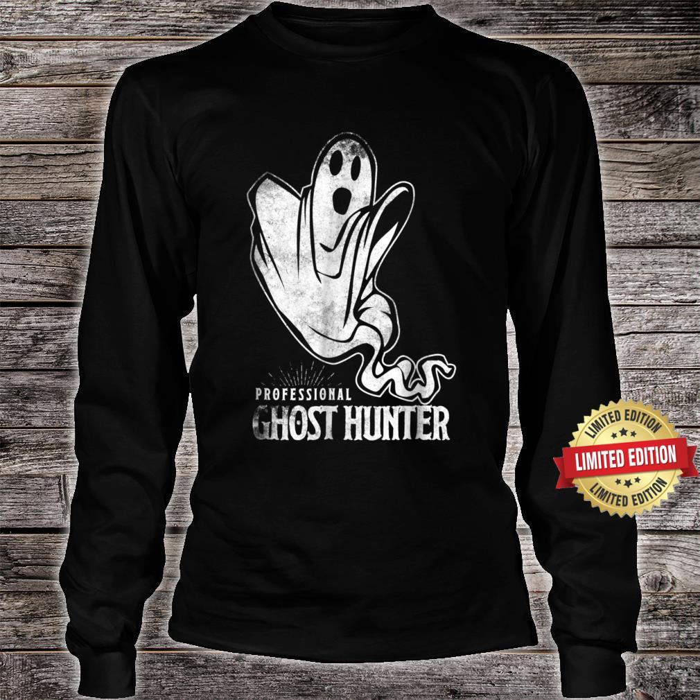 Professional Ghost Hunter New Shirt Gift Hunt Hunting Shirt long sleeved