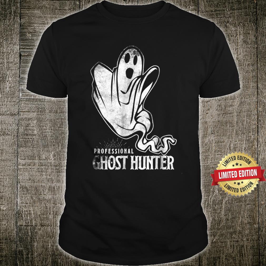 Professional Ghost Hunter New Shirt Gift Hunt Hunting Shirt