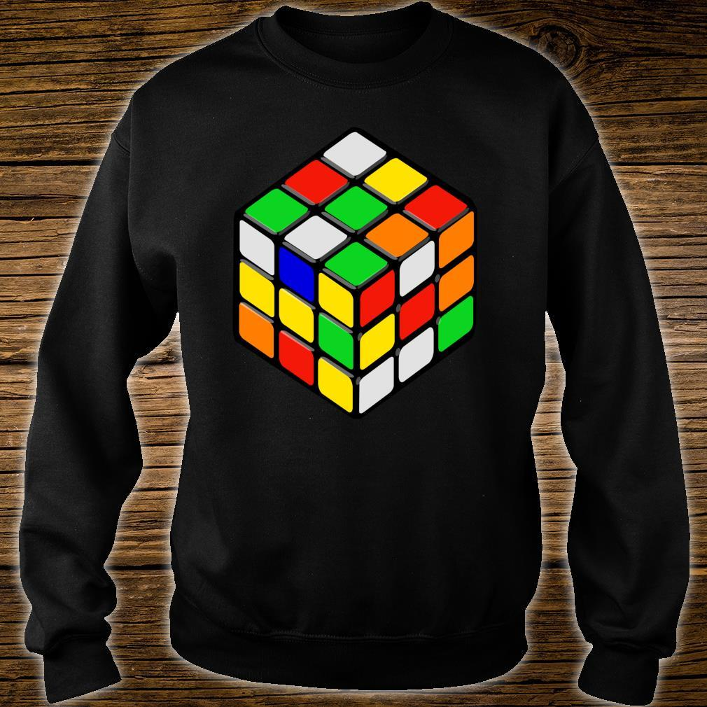 Speed Cubing Puzzle Cube Shirt sweater