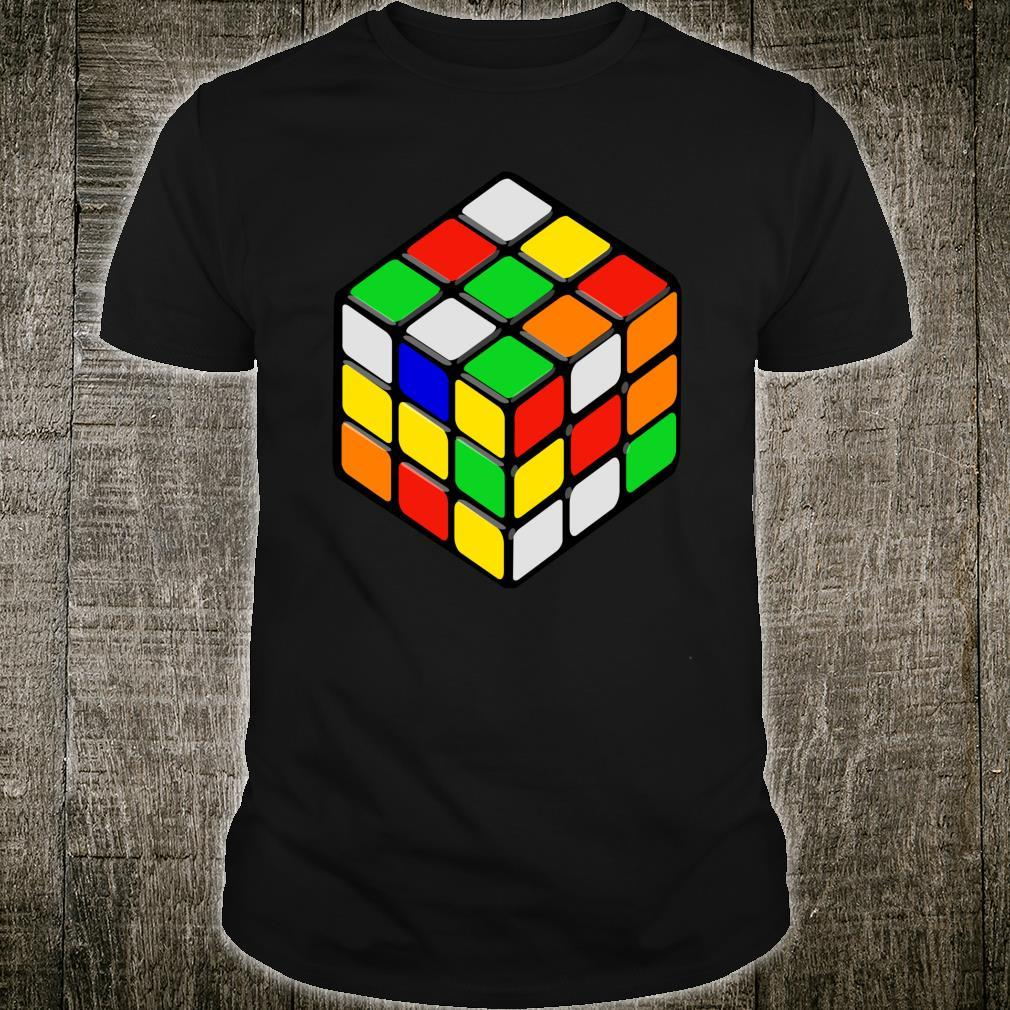 Speed Cubing Puzzle Cube Shirt