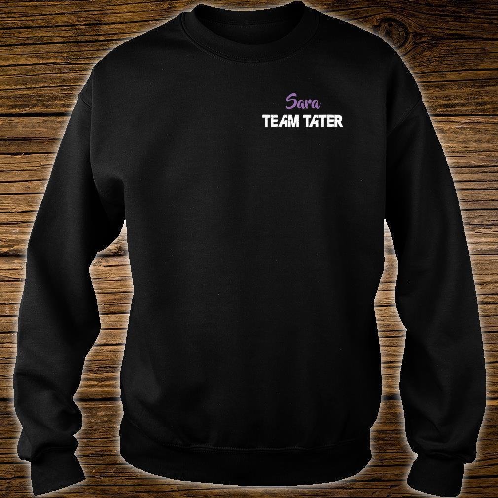 Team Tater Team Name Sara Player Name Shirt sweater