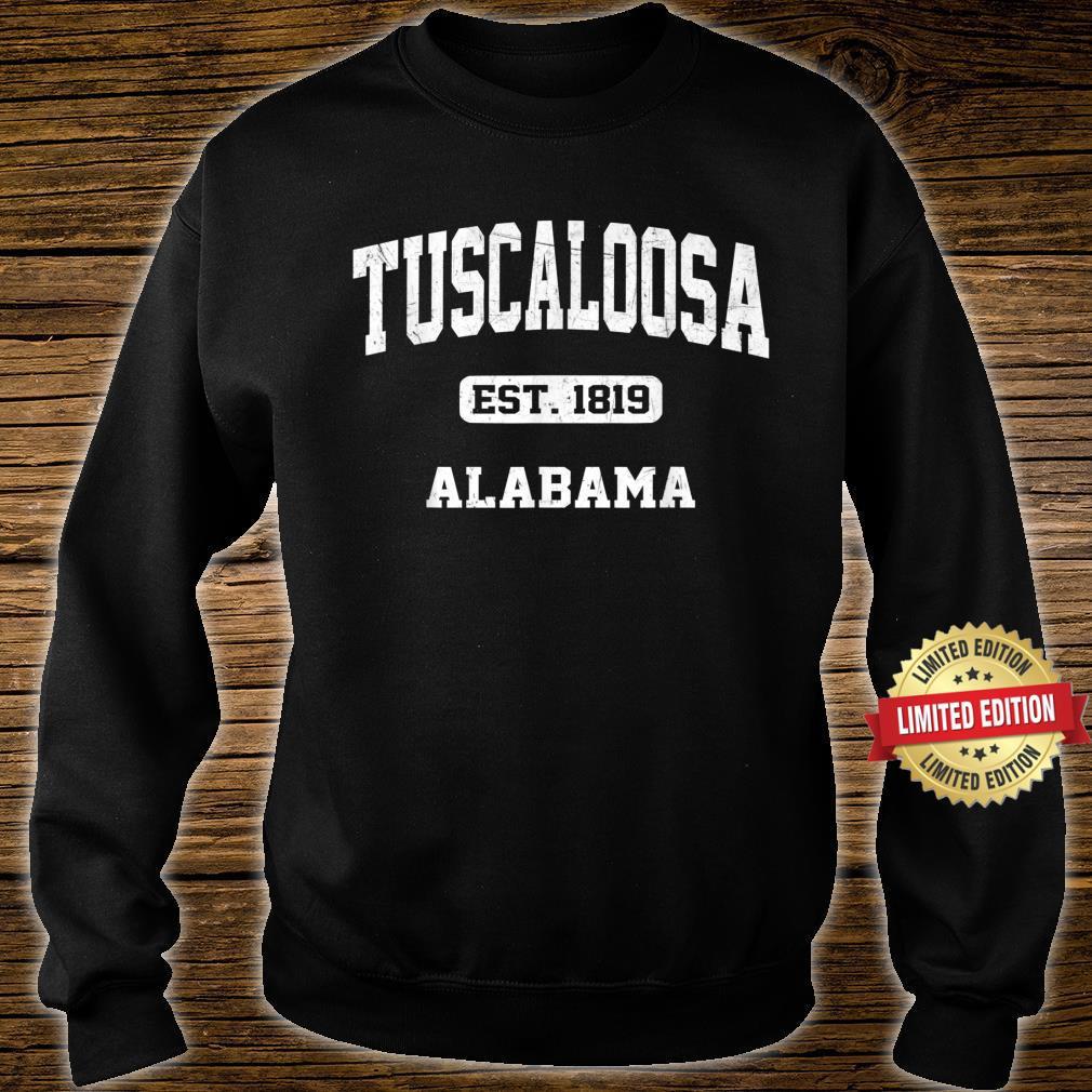 Tuscaloosa Alabama AL Vintage State Athletic Style Shirt sweater