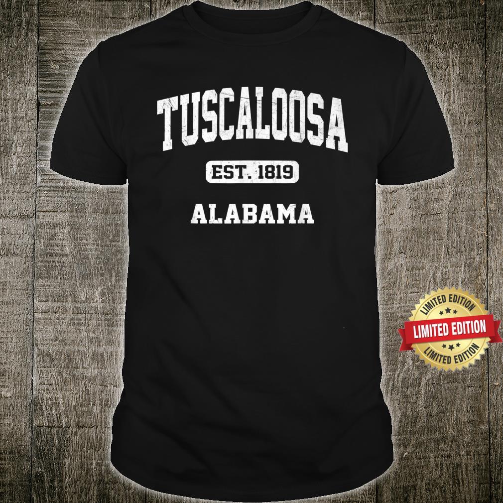 Tuscaloosa Alabama AL Vintage State Athletic Style Shirt