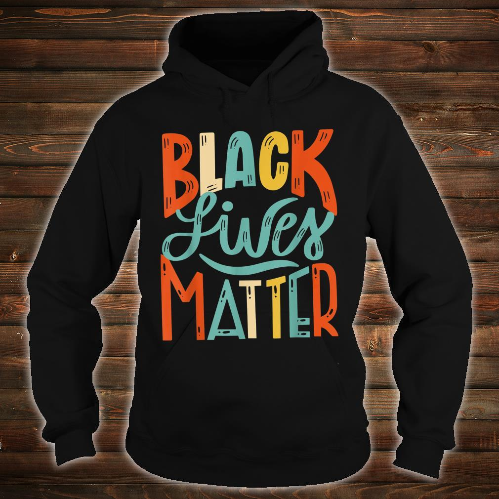 Vintage BLM Shirt Black Lives Matter Retro 70s 80s Style BLM Shirt hoodie