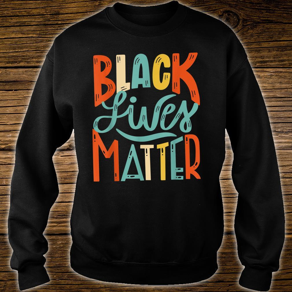 Vintage BLM Shirt Black Lives Matter Retro 70s 80s Style BLM Shirt sweater