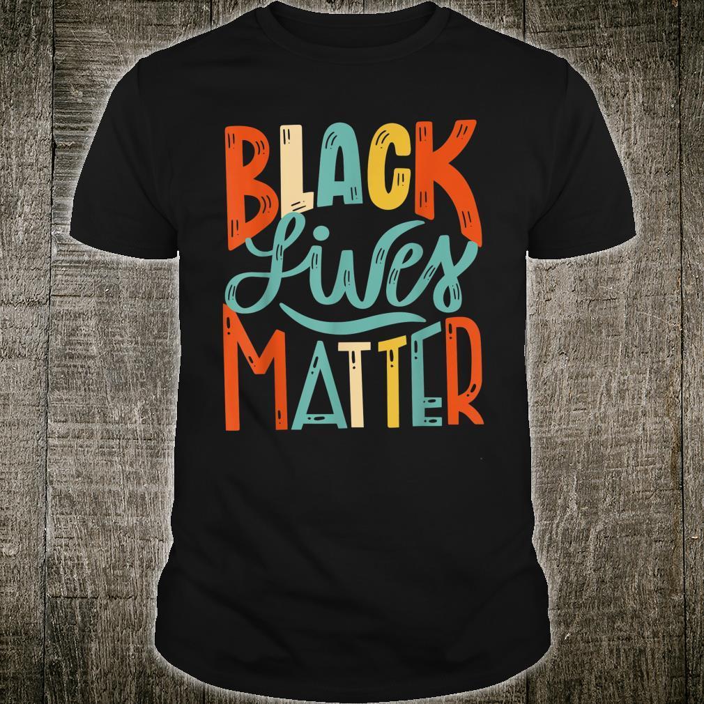 Vintage BLM Shirt Black Lives Matter Retro 70s 80s Style BLM Shirt