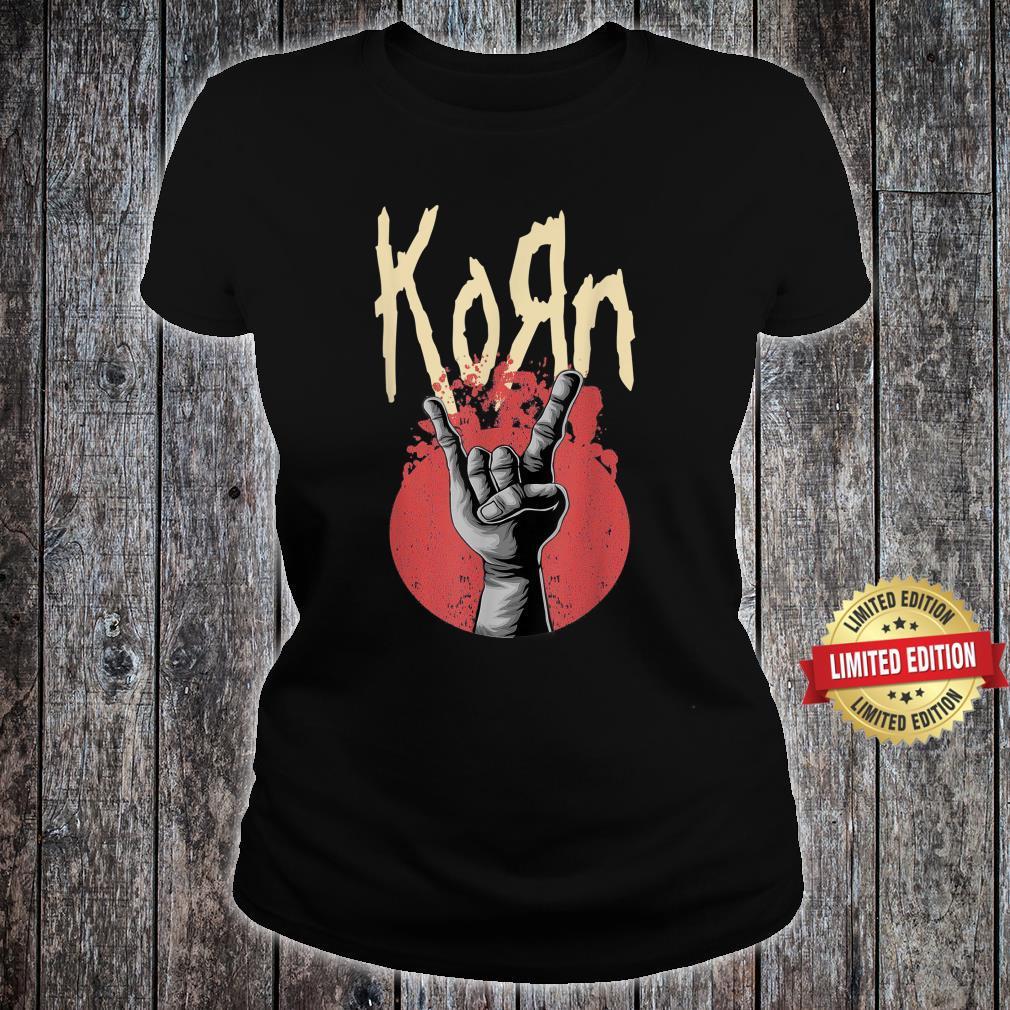 Vintage Korns Rock Band Legend 80s 90s Limited Shirt ladies tee