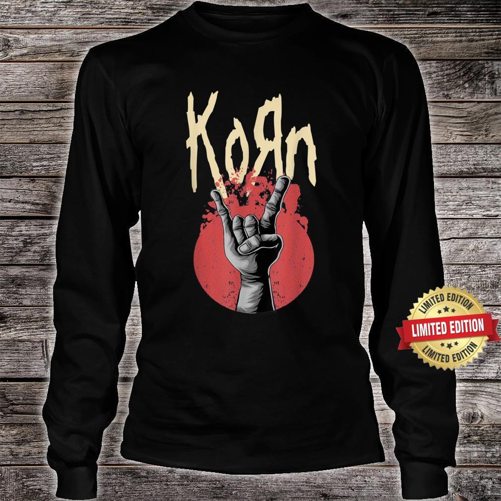 Vintage Korns Rock Band Legend 80s 90s Limited Shirt long sleeved
