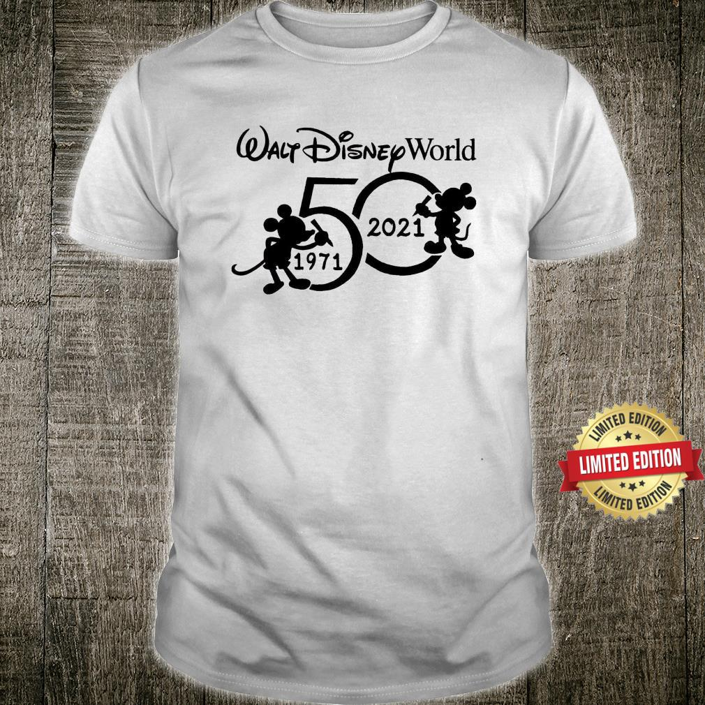 Walt Disneyworld 50th Anniversary Shirt