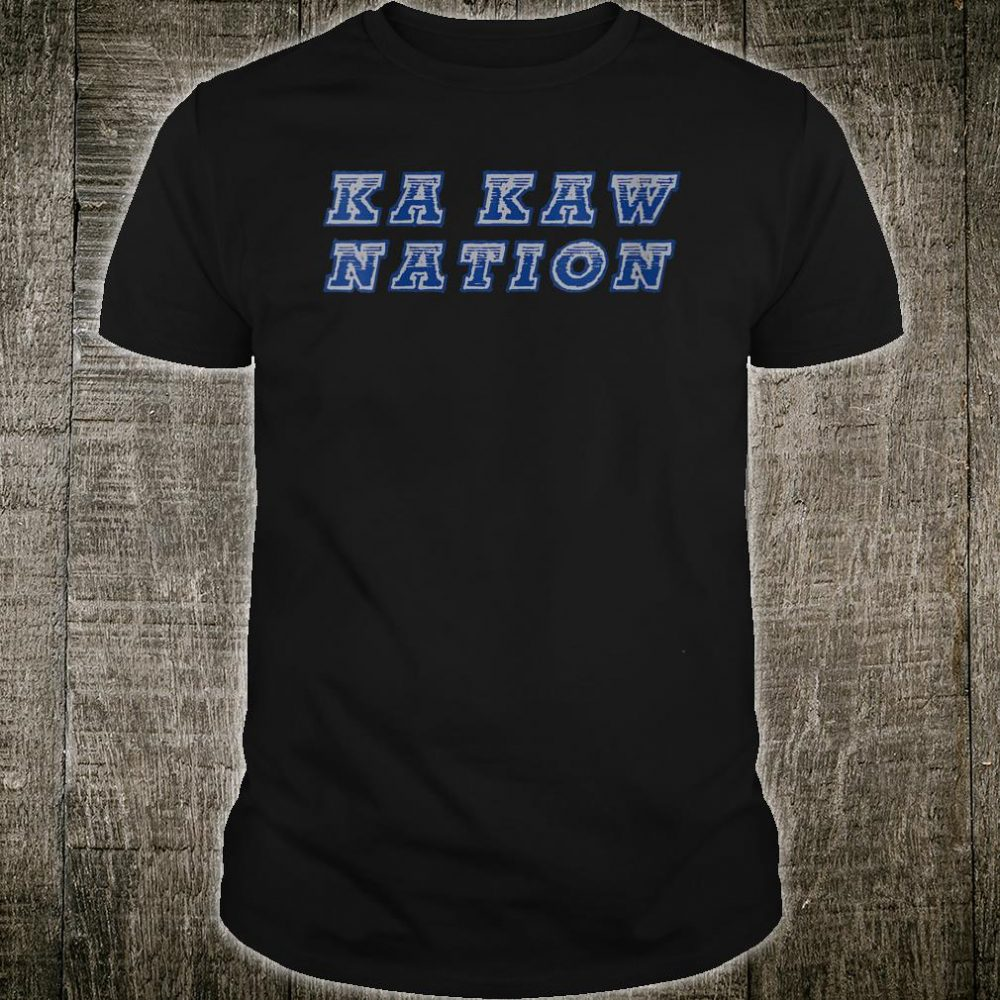 Blue and Grey St Louis KaKaw Nation by Life Is A Ball Shirt