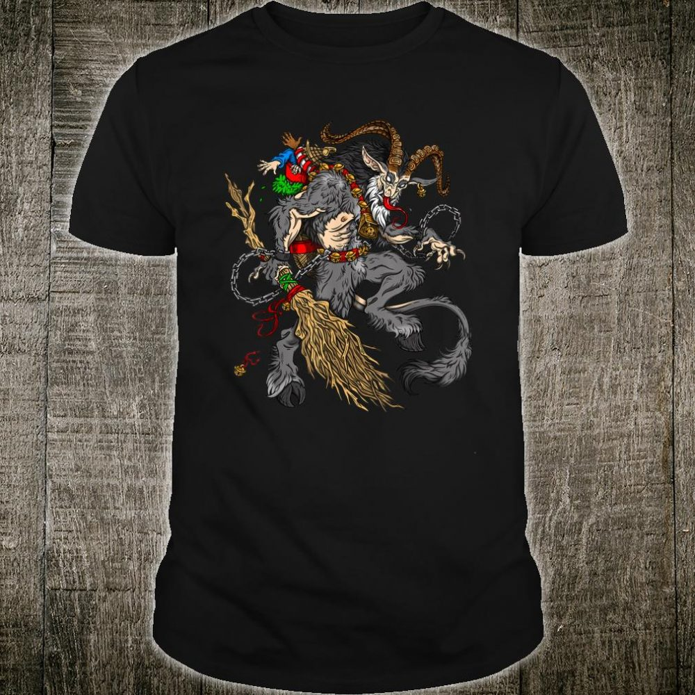 Christmas Krampus Comin' For The Naughty Listers Shirt
