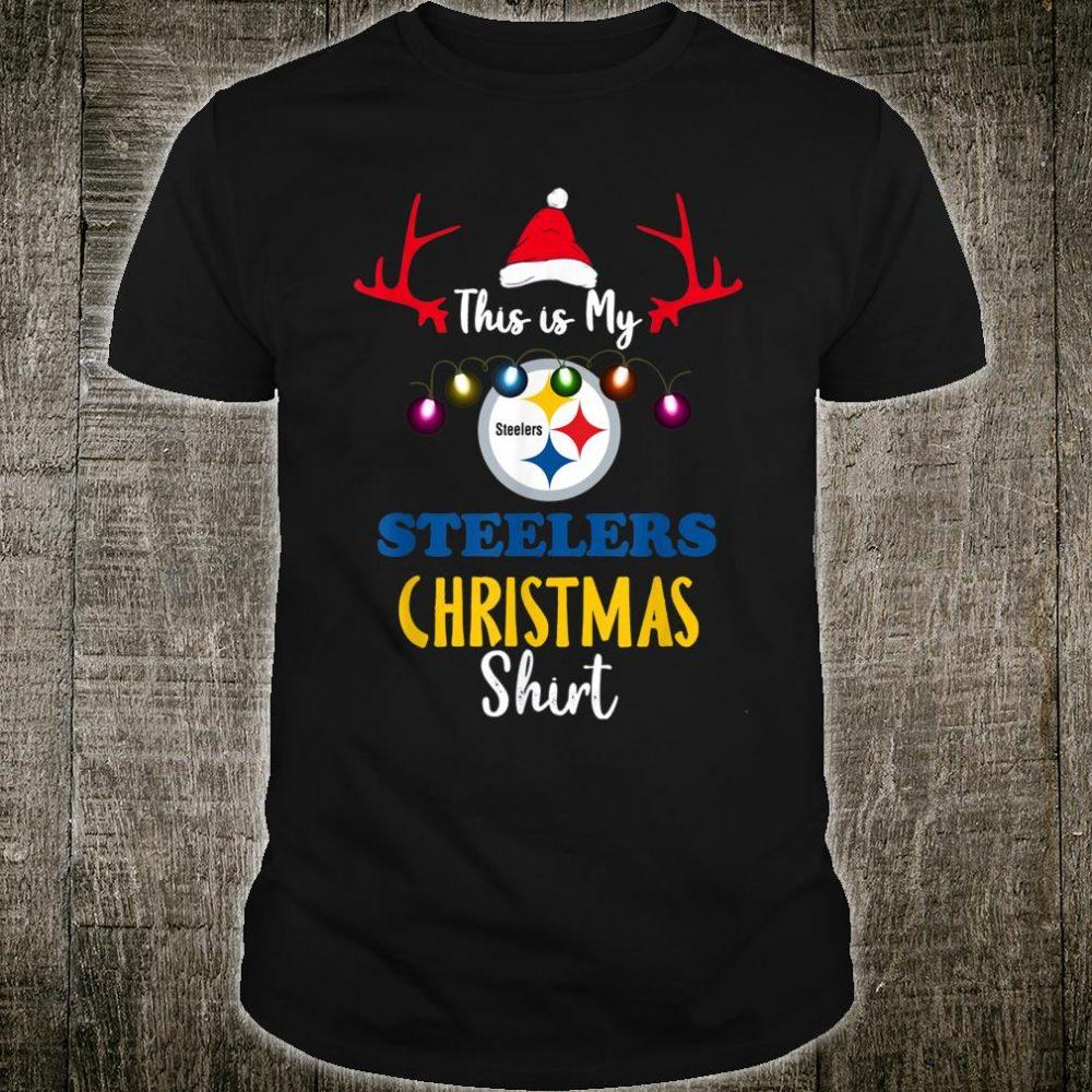 Christmas This Is My Football Pittsburgh-Steeler Team Shirt
