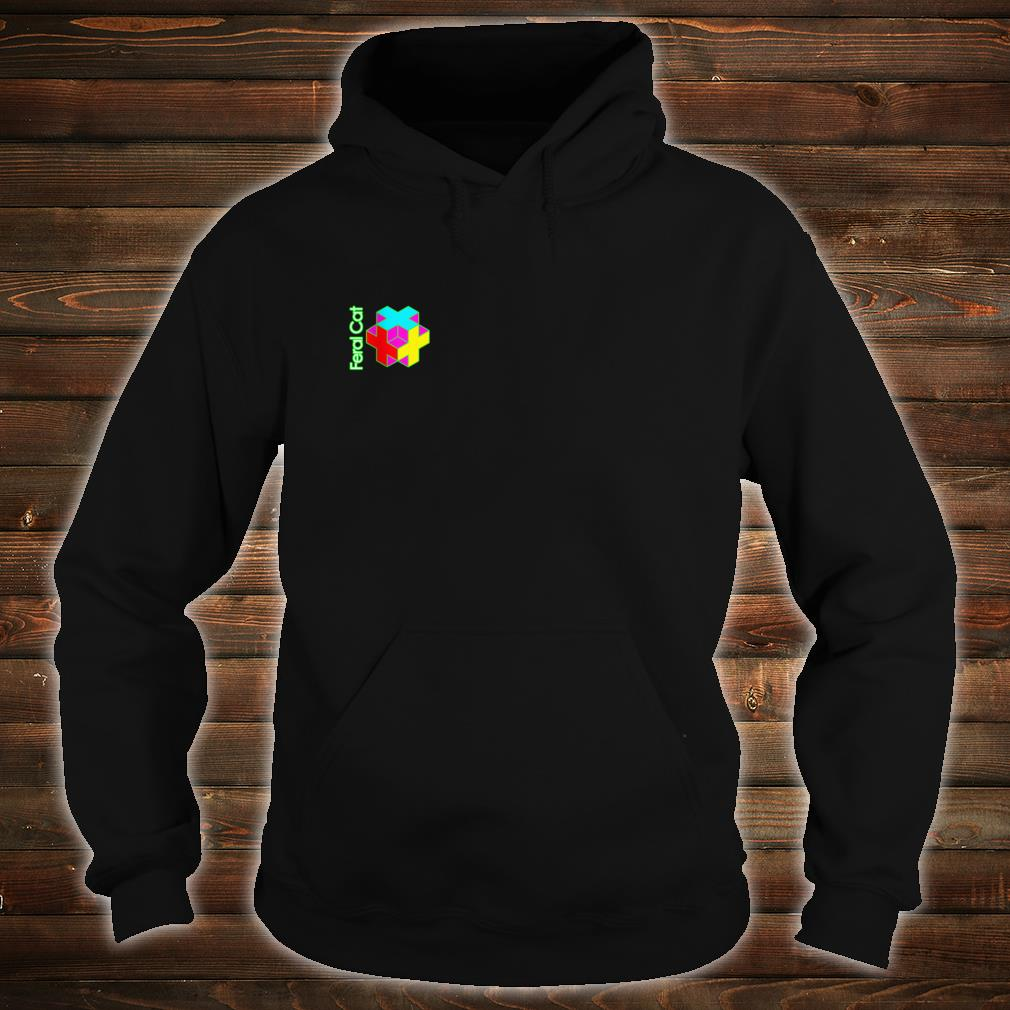 Color Cube Shirt hoodie