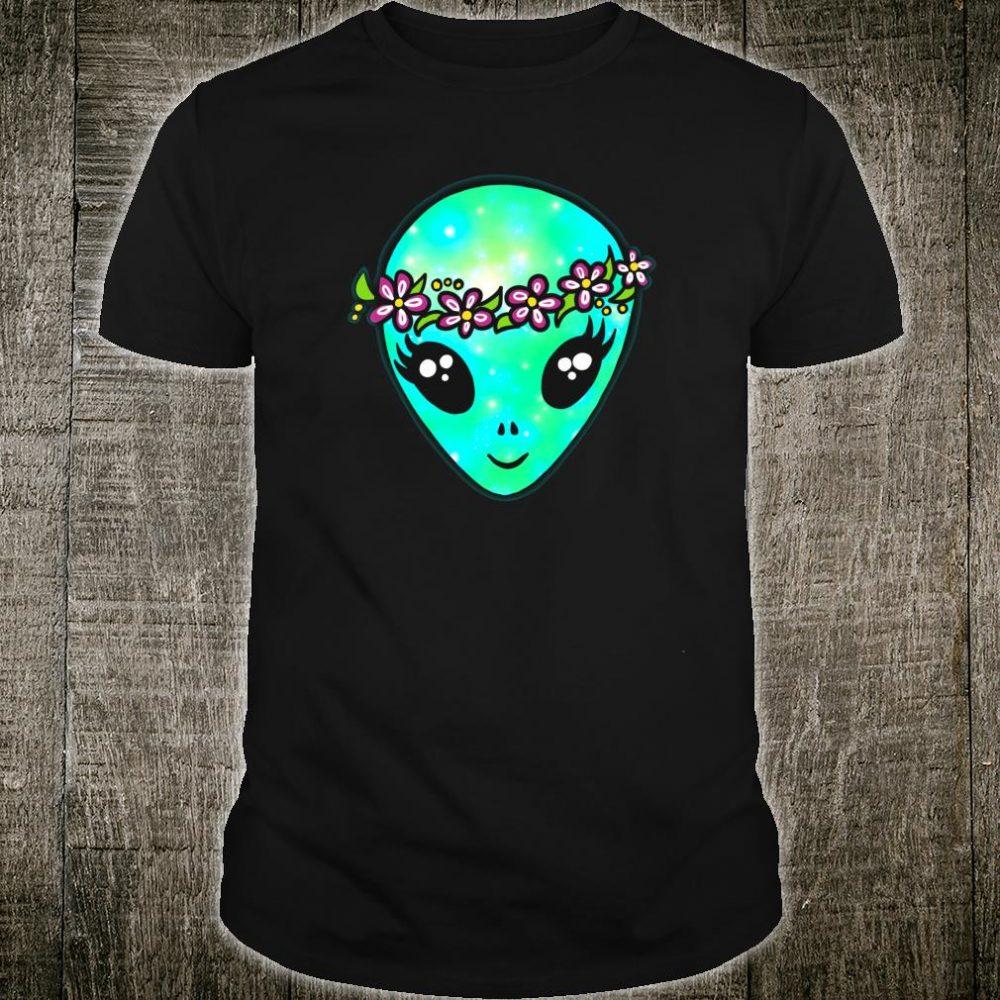 Cute, Alien, Flower, Power Shirt