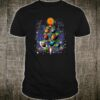 Cute Solar System dog Christmas Tree Shirt