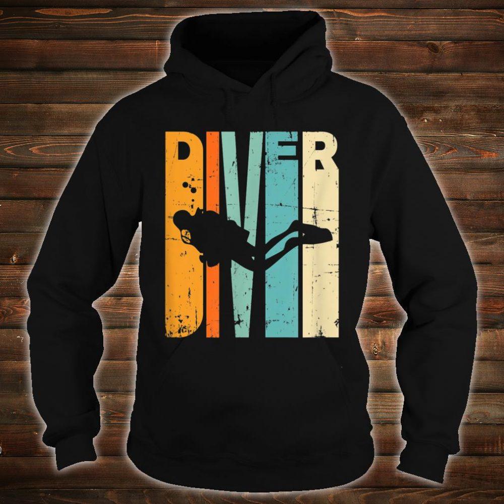 Diving Vintage Diving Instrucor Scuba Diving Shirt hoodie