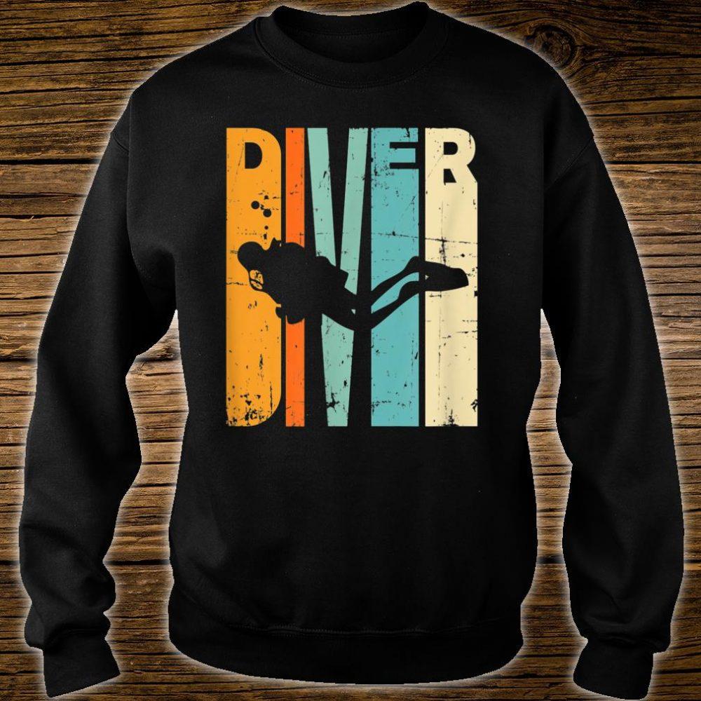 Diving Vintage Diving Instrucor Scuba Diving Shirt sweater