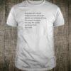 Feminism Isn't about making women stronger Shirt
