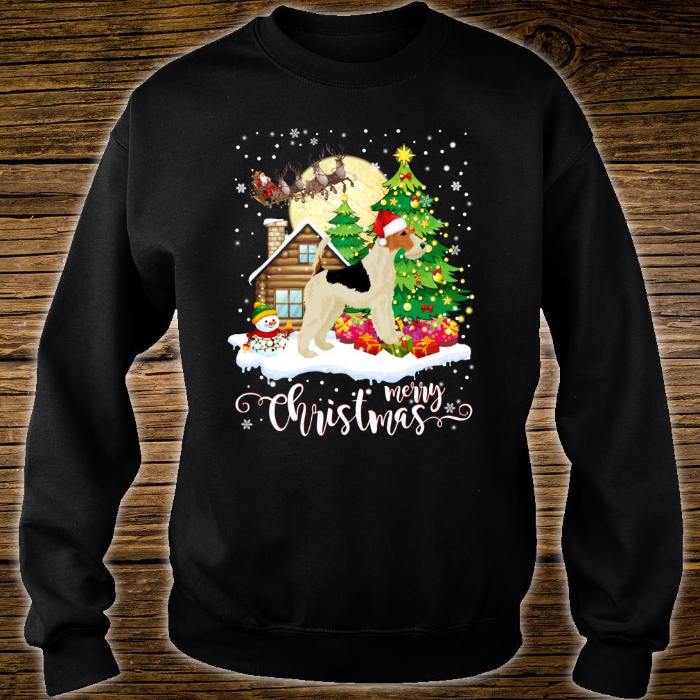 Images Of Merry Christmas.Fox Terrier Merry Christmas Dog Lover Shirt