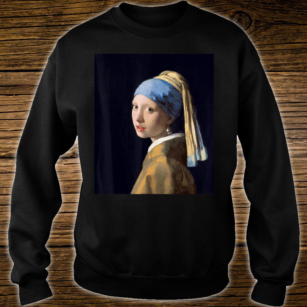 Girl with a Pearl Earring by Johannes Vermeer Shirt sweater
