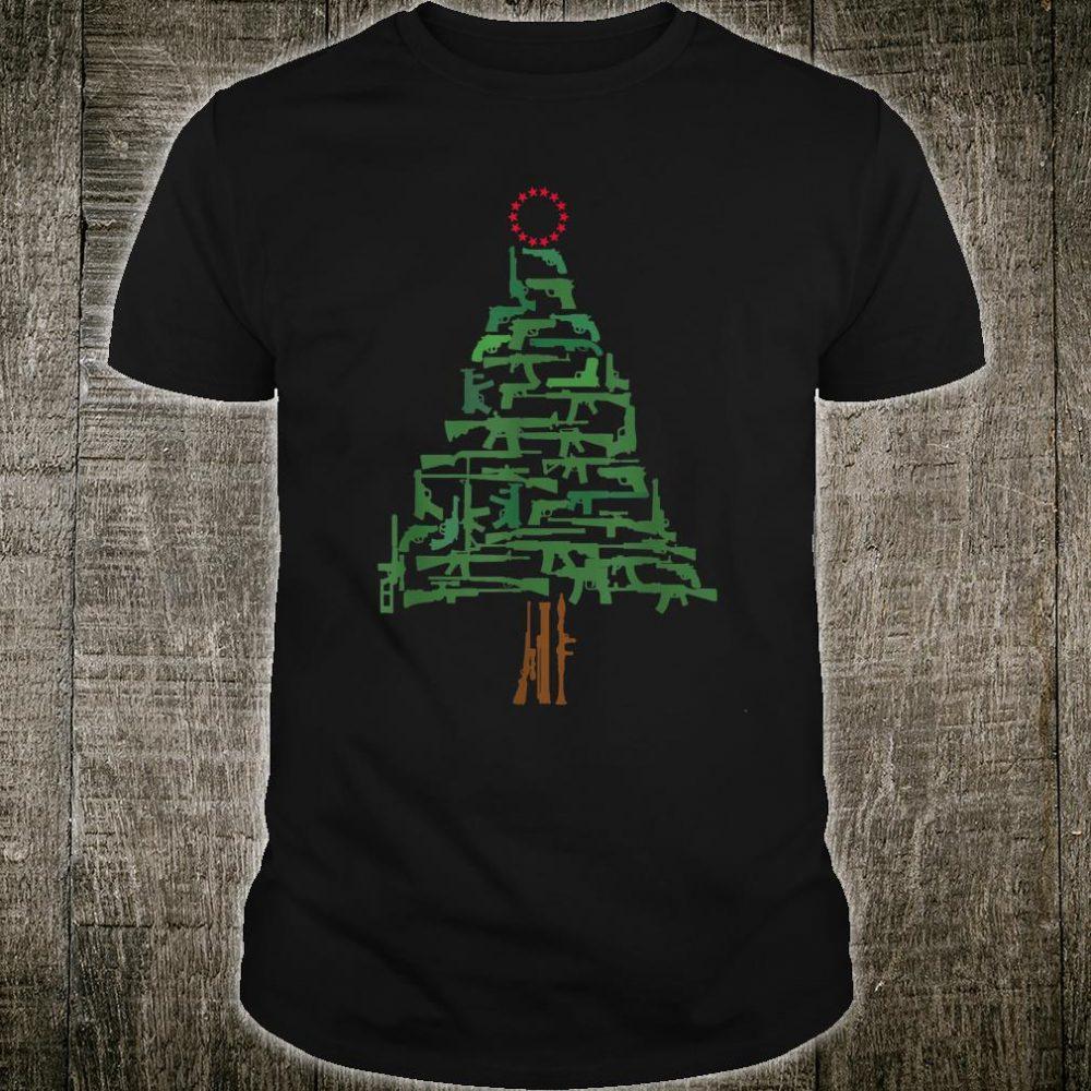 Guns Christmas Tree Ornament Guns lover Shirt