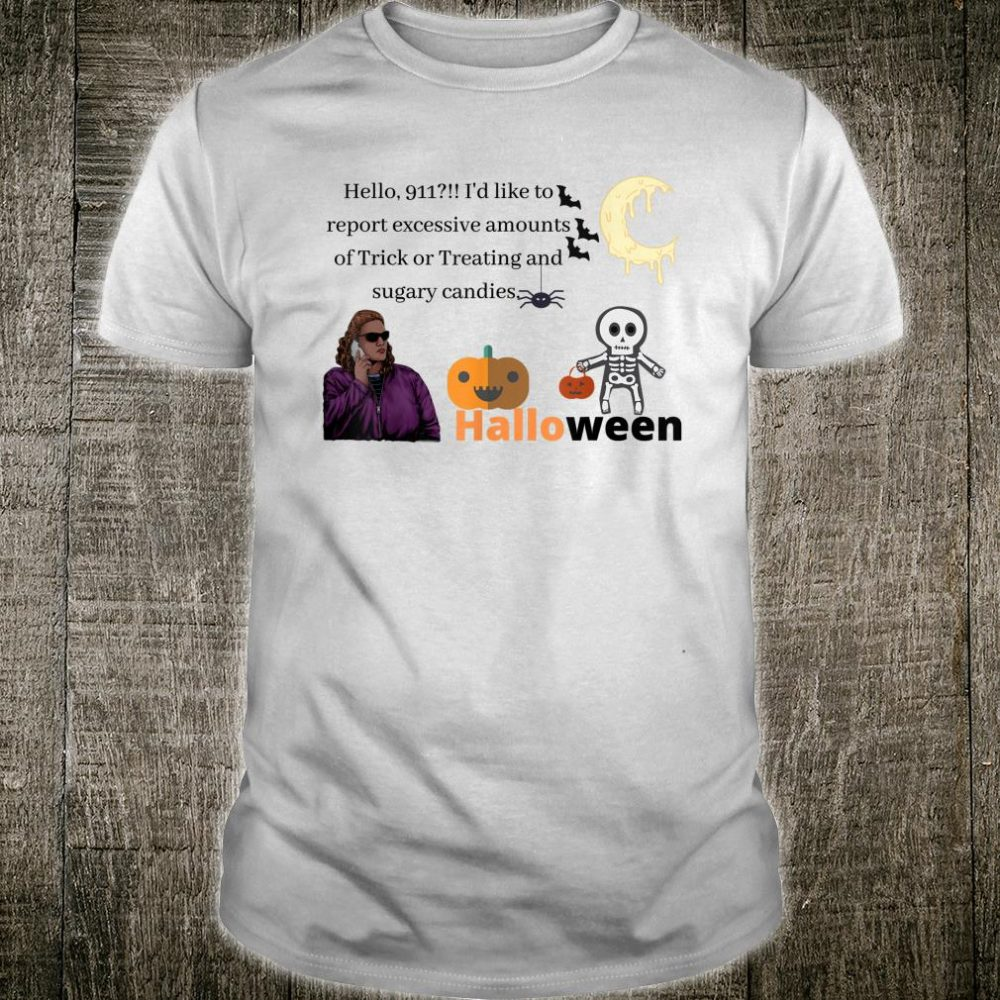 Halloween Karen Trick or Treat Candy scary Halloween Shirt