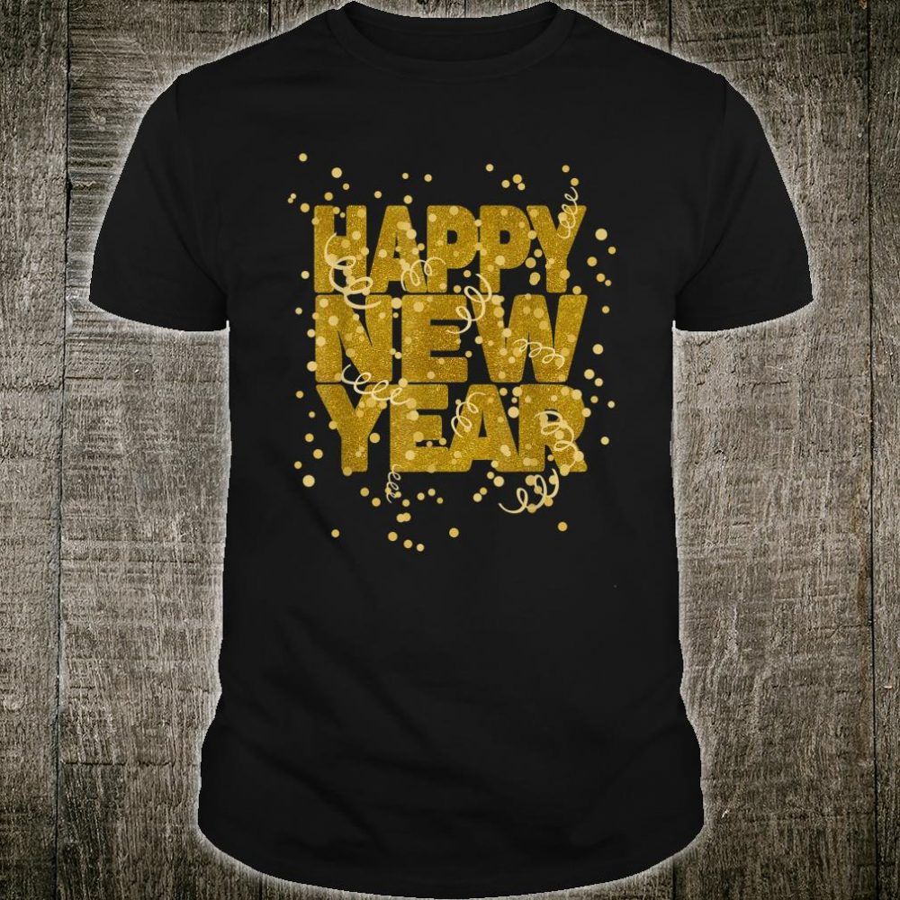 Happy New Year NYE Party Eve Confetti Shirt