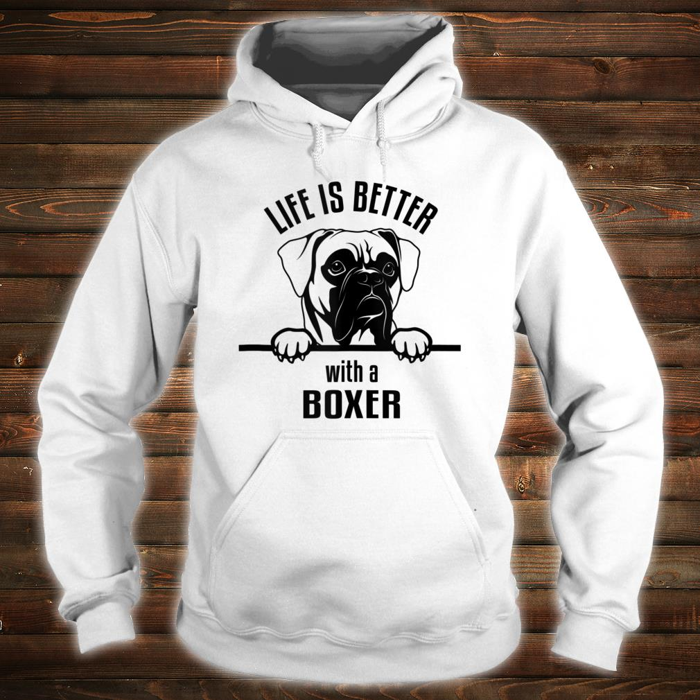 Ho-Bo Care Boxer Rescue (Colorado) Life Is Better Shirt hoodie