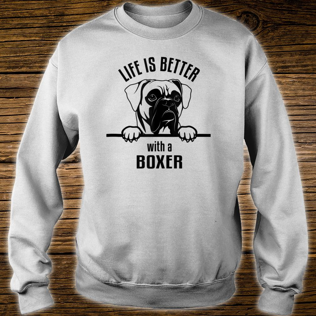 Ho-Bo Care Boxer Rescue (Colorado) Life Is Better Shirt sweater