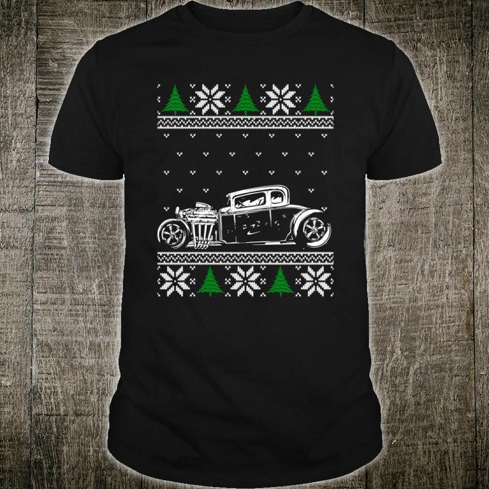 Hot Rod Ugly Christmas Classic American Hotrod Lover Shirt