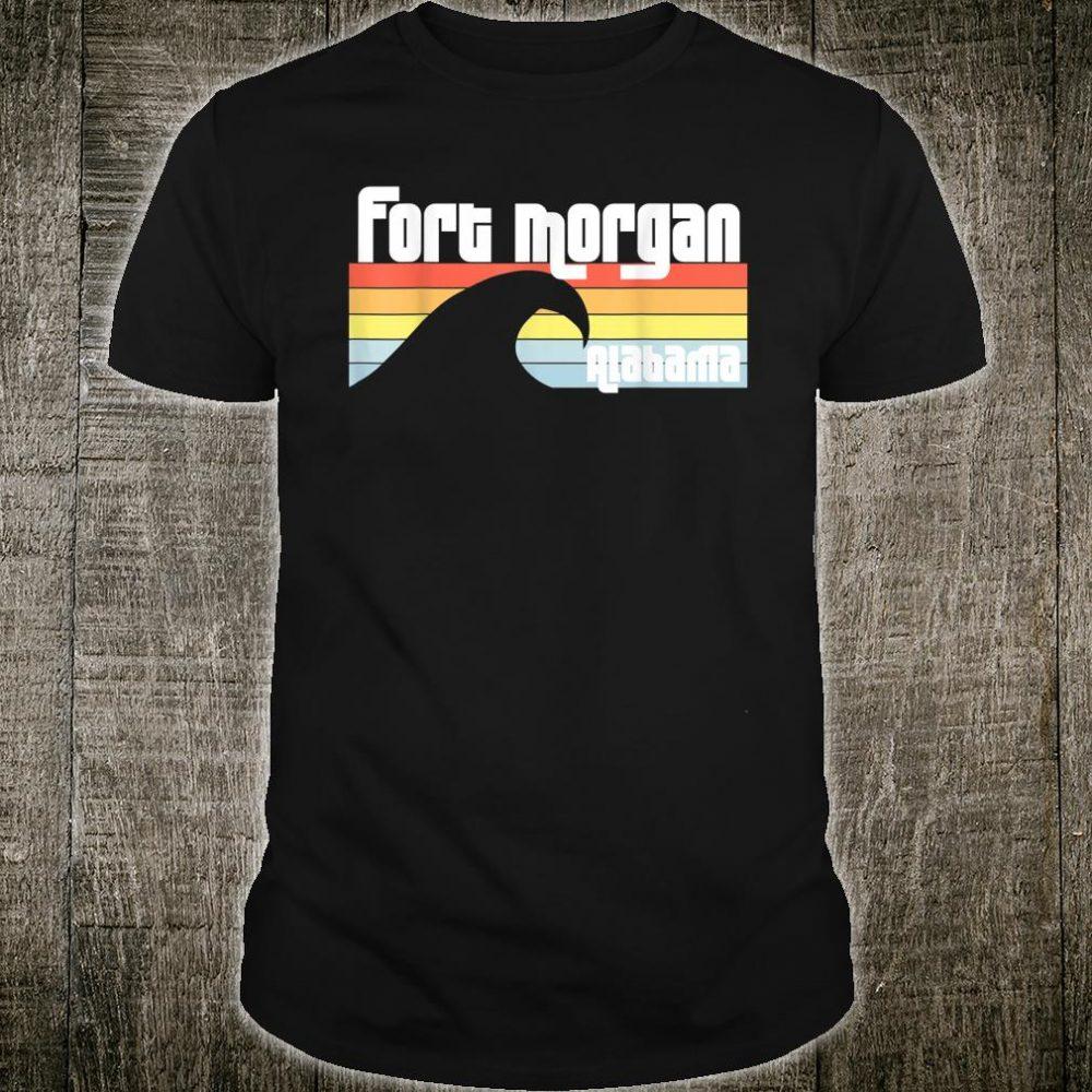 I Love Fort Morgan Alabama AL Gulf Coast Orange Beach Shirt