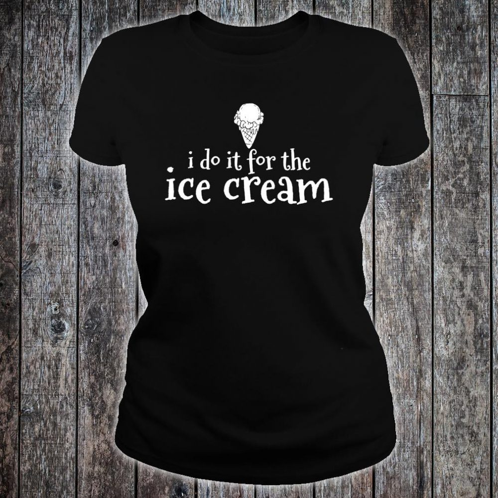 Ice Cream Summer Treats Inspirational Shirt ladies tee