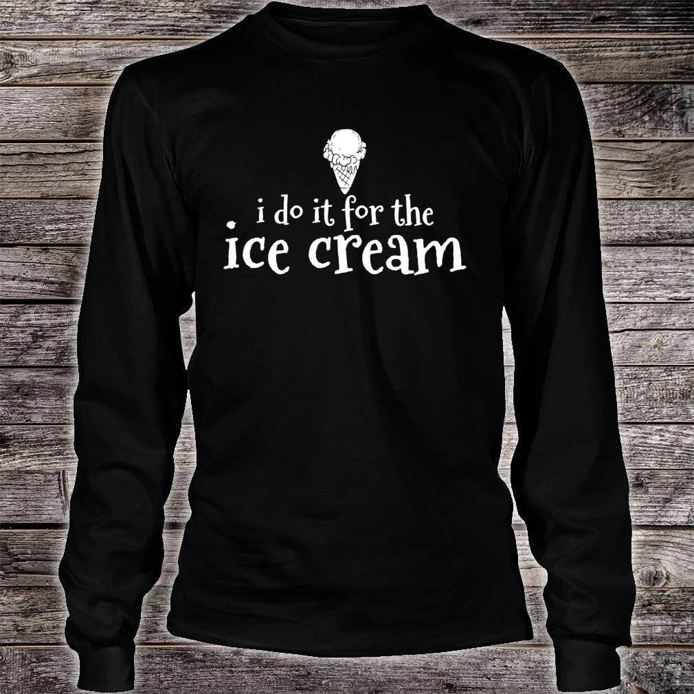 Ice Cream Summer Treats Inspirational Shirt long sleeved
