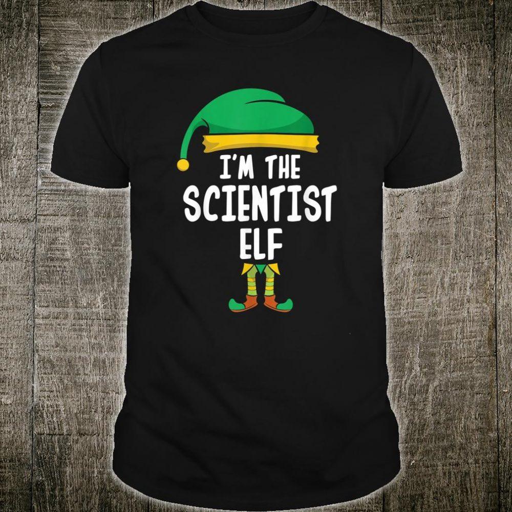 I'm The Scientist Elf Shirt
