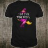 I'm The Wine Witch Matching Group Halloween Shirt
