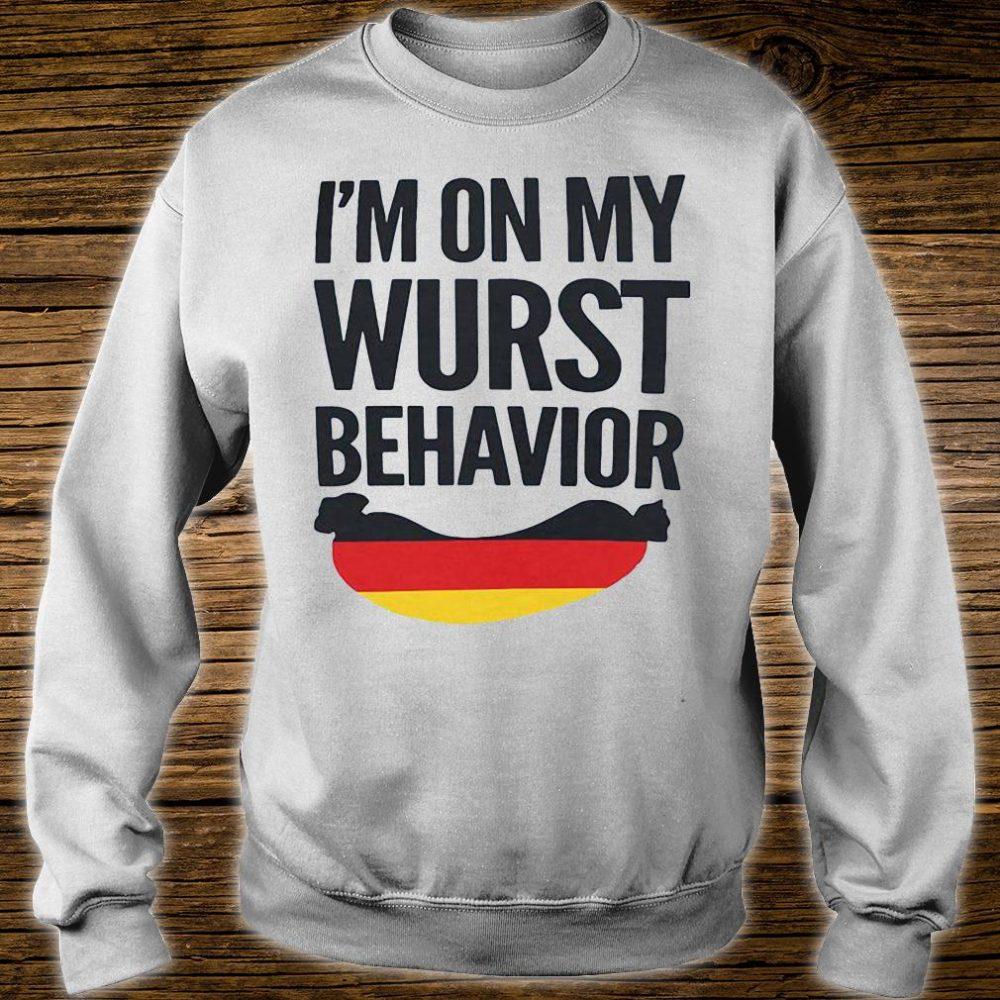 I'm on my wurst behavior shirt sweater