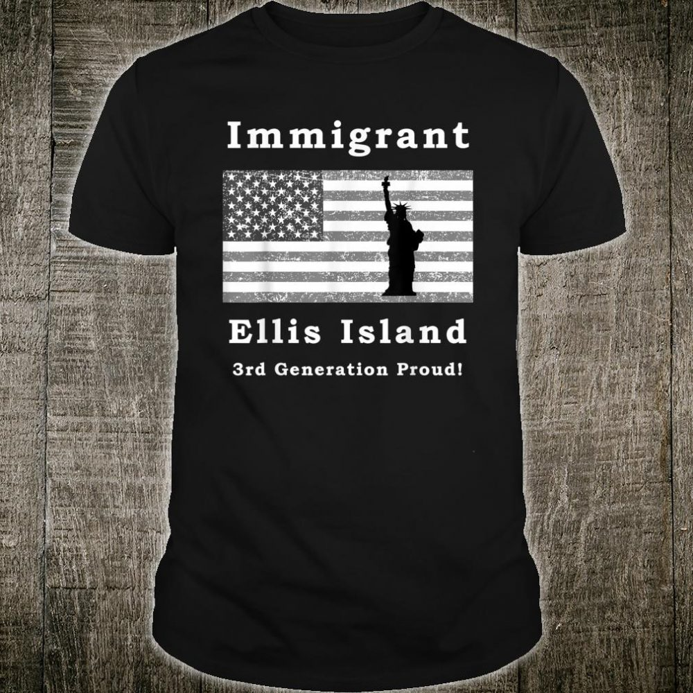 Immigrant silhouete Shirt