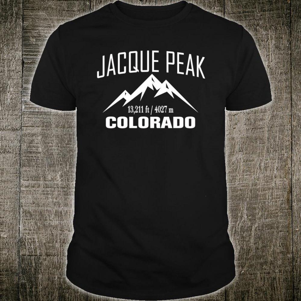 JACQUE PEAK COLORADO Climbing Summit Club Outdoor Shirt