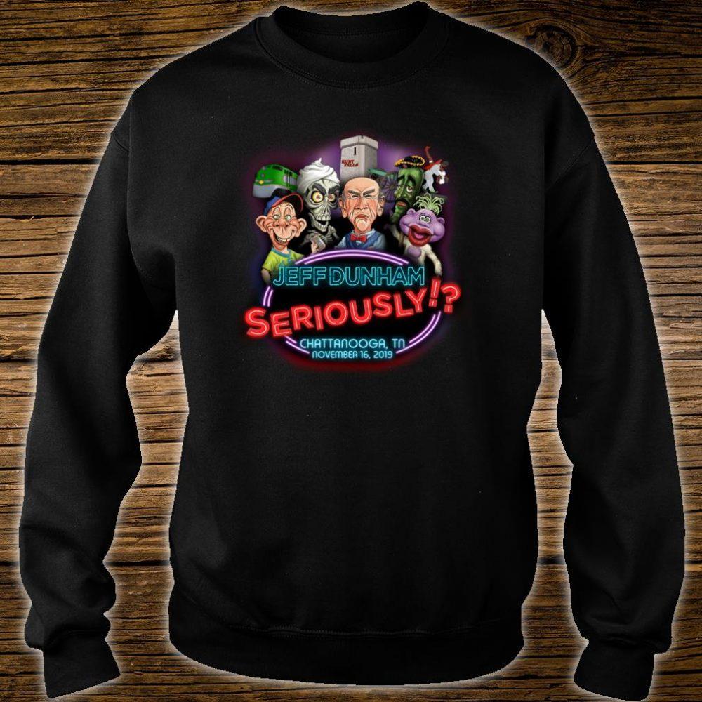 Jeff Dunham Chattanooga, TN Shirt sweater