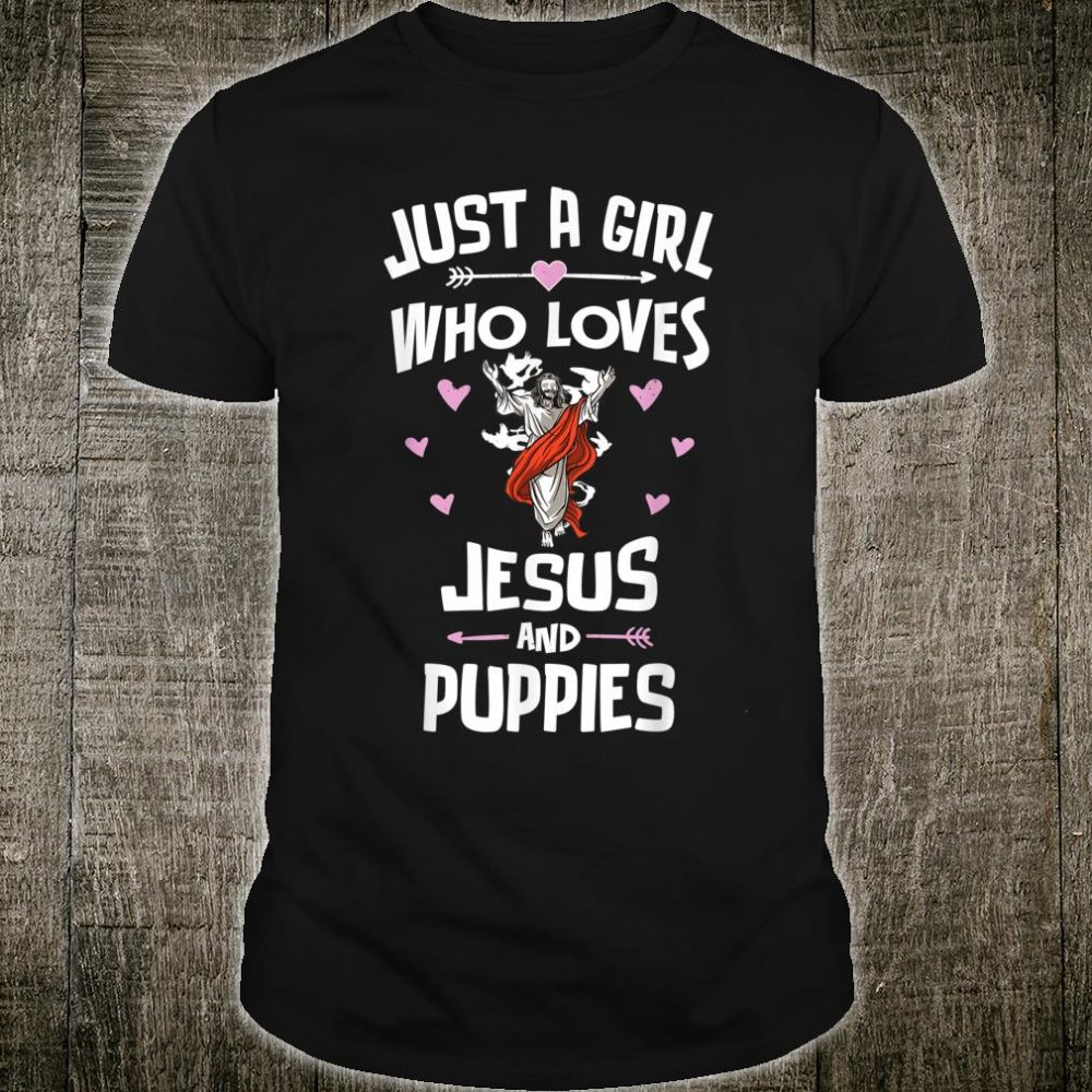 Jesus And Puppies Shirt