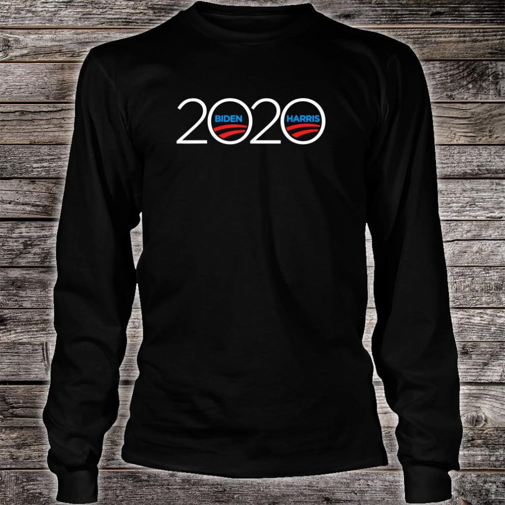 Joe Biden Kamala Harris 2020 Shirt long sleeved