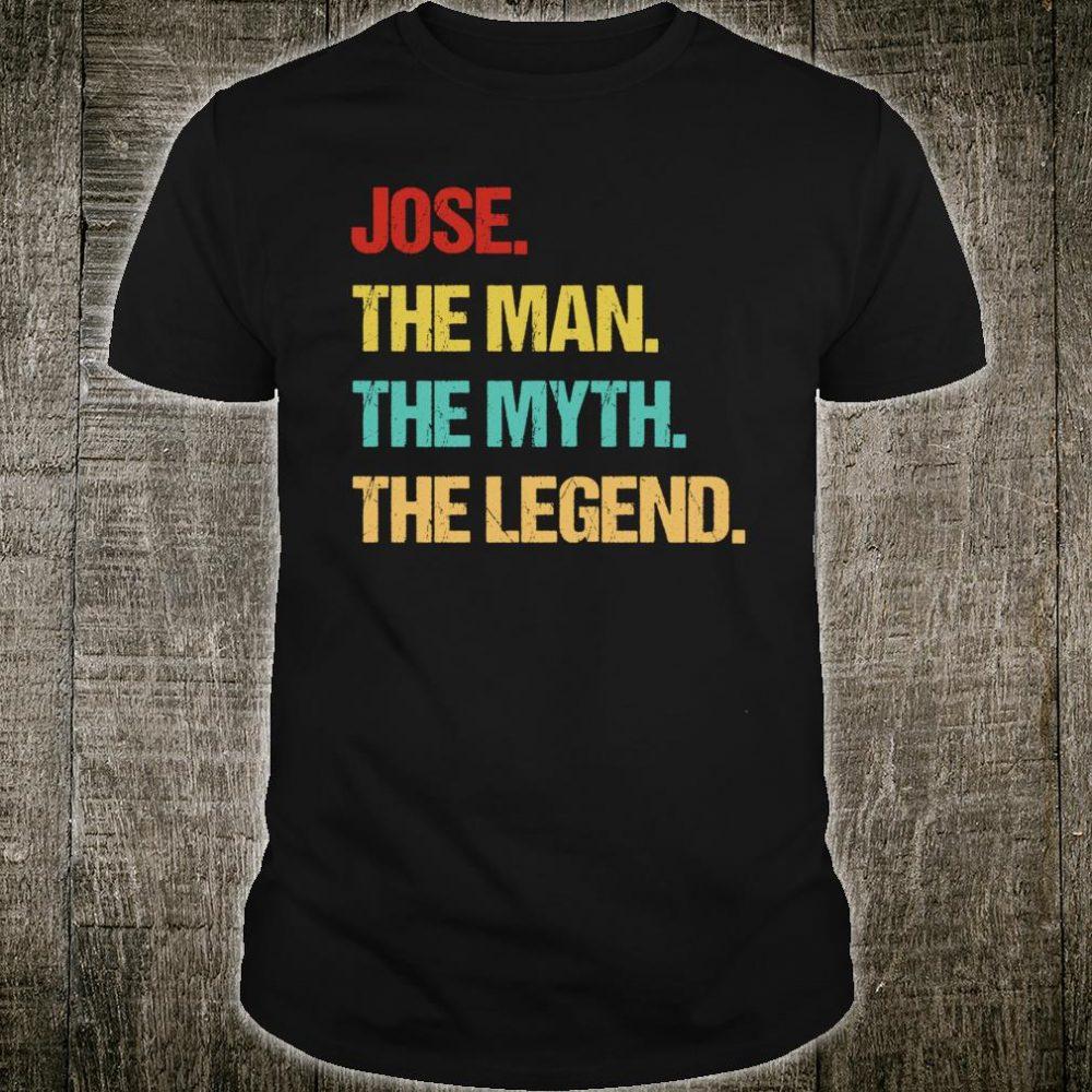 Jose Name Gift Shirt