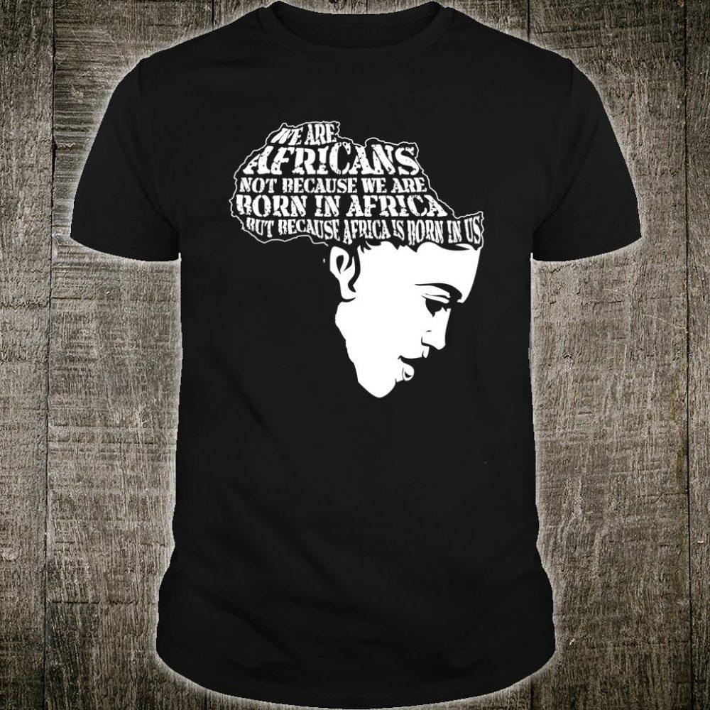 Juneteenth Melanin Afro Africa American Ancestors Freedom Shirt